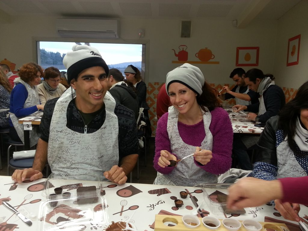 Chocolate Workshop – great part of an office outing!
