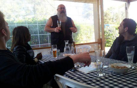 Aram Dekel of Abeer Haela Brewery , Judean Hills
