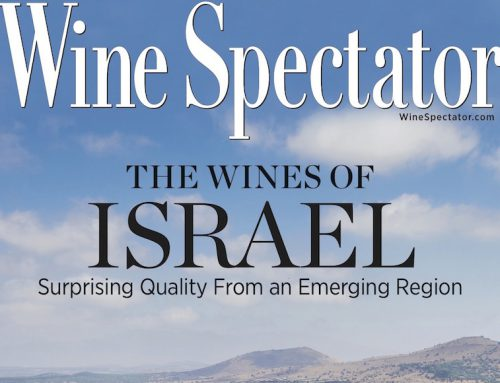 Post Wine Spectator issue covering Israeli Wine
